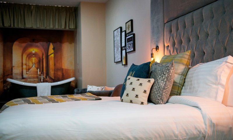 Opulent Hotel Room Royal Suite