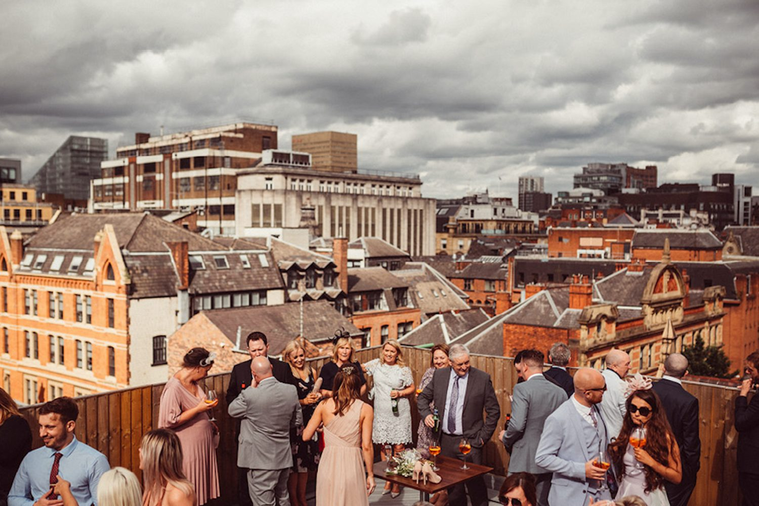 John Rylands Rooftop Terrace Manchester Hall